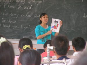Student teacher in China 300x224 - Things to consider when teaching introverts
