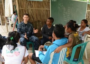 master at arms 2nd class nicholas sulo interacts with students and teachers 5fbe89 1024 300x214 - Why Teachers Should Continue Learning
